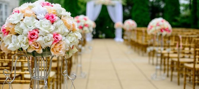 ¿Cómo elegir arreglos de flores para boda?