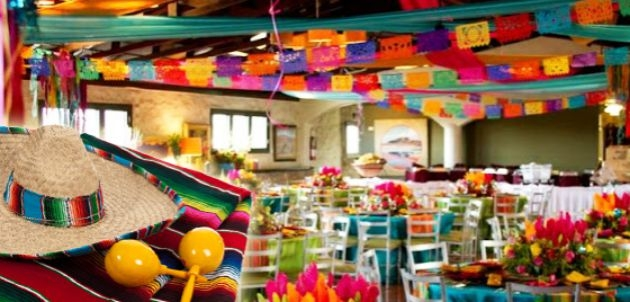 Organizar fiesta mexicana