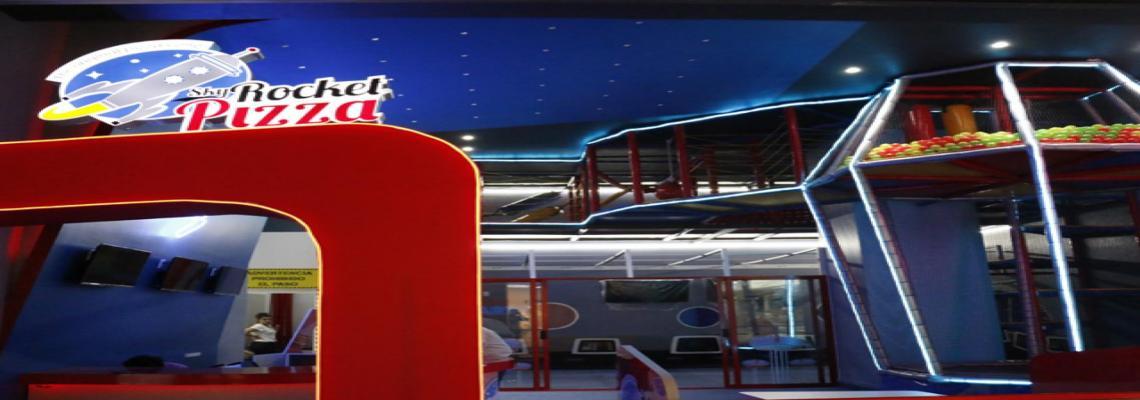Sky Rocket Pizza, todo para fiestas - Fiestas Channel
